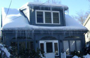 roof icicles