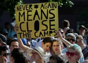 Close the Camps protest