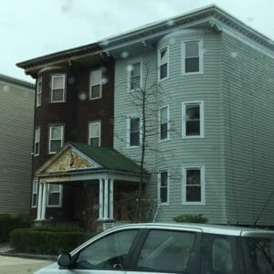 Multifamily house before renovation