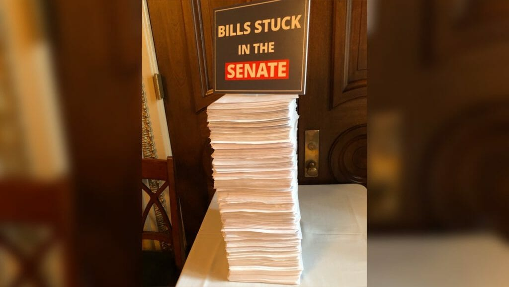 Bills stuck in Senate