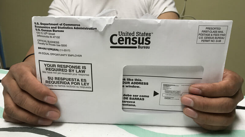 Census 2020 envelope