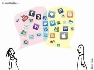 Conversation social media
