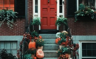 Thanksgiving doorstep