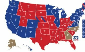vote map by state